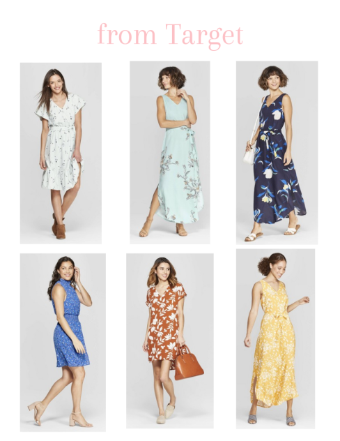 6 floral dresses from Target that are perfect for Spring