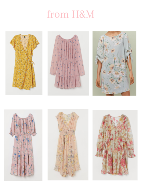 6 floral dresses from H&M